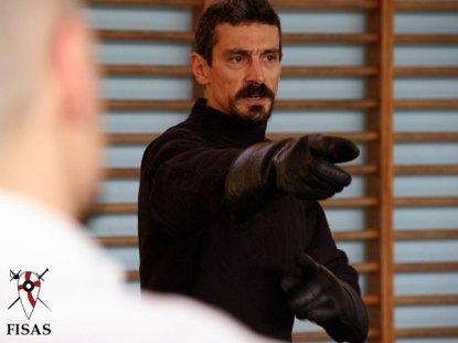 Андреа Лупо Синклеа, один из основатель FISAS, Италия.