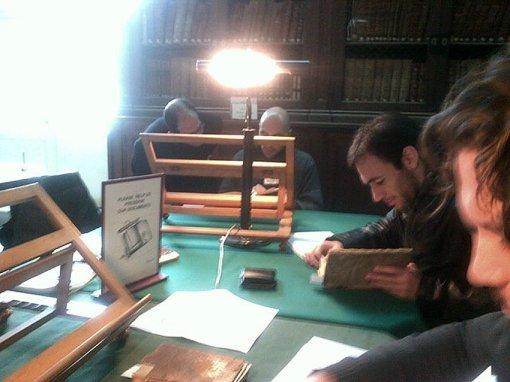 Представители MHFA в национальной библиотеке г. Валетты, Мальта.