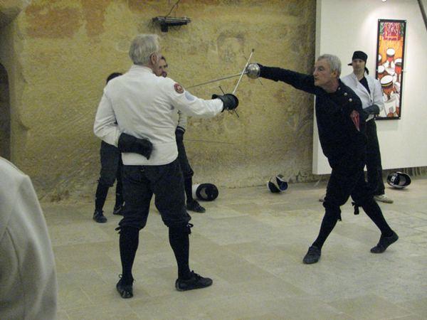 """Роберт Райтсон и Андрю Фист, """"Sussex Sword Academy"""". Великобритания."""