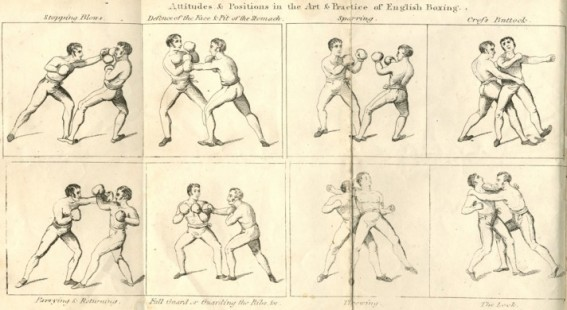 Позы и позиции в английском боксе.