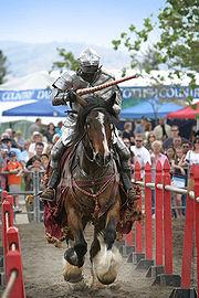 """Рыцарь на фестивале """"Renaissance Fair"""", Ливермор, Калифорния, 2006."""