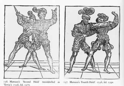 Второй и четвертый захваты из книги Мароццо.