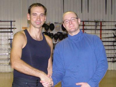 Игорь Андреев и Guy Windsor. Школа Европейского Фехтования в Хельсинки.