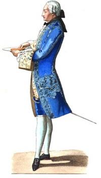 Граф де Жарнак, XVIII век.