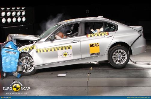 EuroNCAP краш-тест BMW.