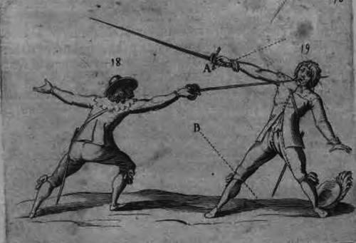 """Франческо Алфьери """"La Spada"""", 1563 год."""