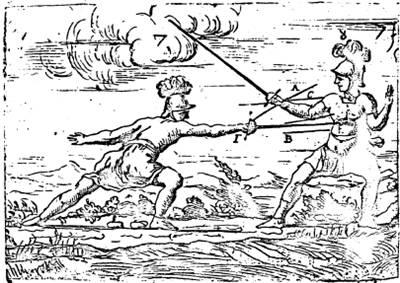 "Марчелли ""Regole Della Scherma"", 1686 год."