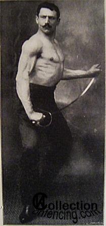 Аджесилао Греко (Agesilao Greco). Итальянский мастер фехтования.