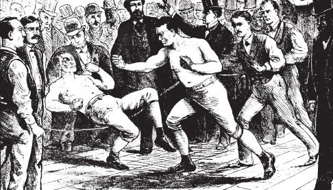"""""""Бокс-ассо"""". Англия, XIX век."""