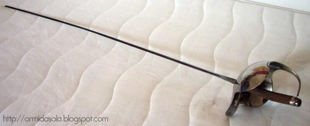 Сабля модификации Пекораро - Пессина. По материалам сайта http://armidasala.blogspot.ru/