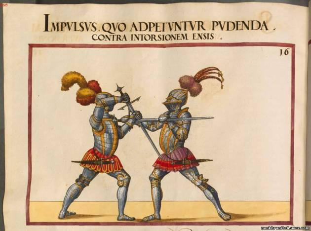 Opus Amplissimum de Arte Athletica (Cod.icon. 393). Автор Паулюс Гектор Маир, около 1550 года.