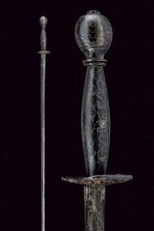 Итальянская малая рапира (spadino/small sword). Италия, XVIII век.